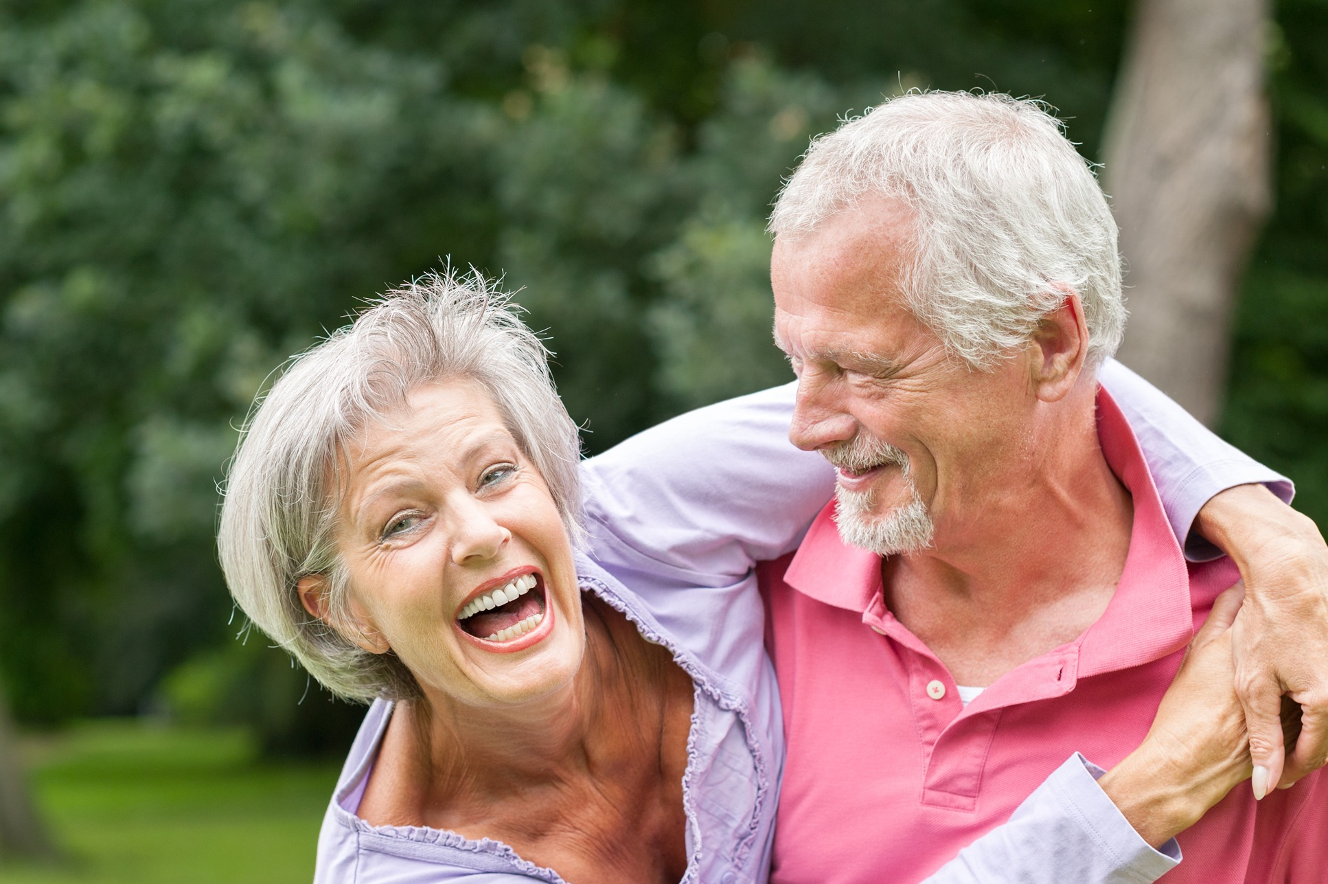 Over 60 Dating Couple
