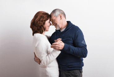 Older couple who have contacted and met up