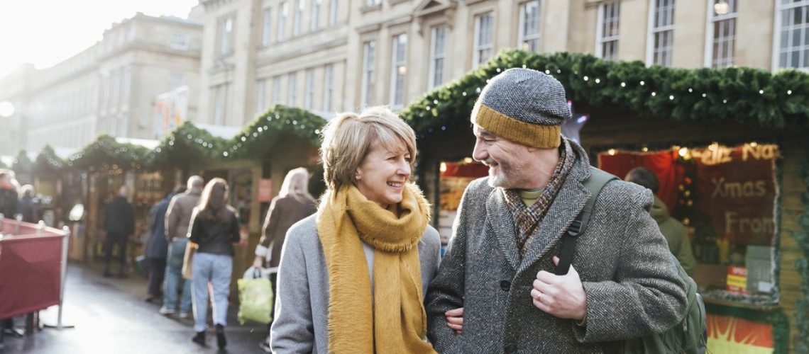 find a christmas date over 50